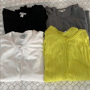 Lot of 4 Old Navy Crew Neck Cardigans